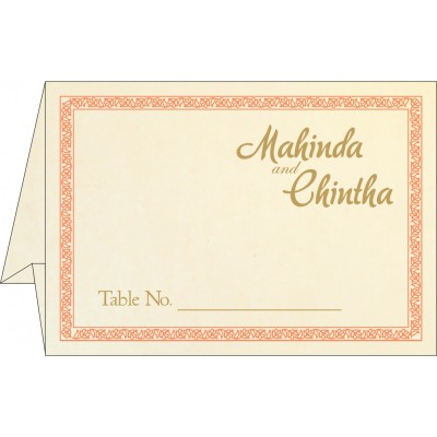 Table Cards - TC-8211F
