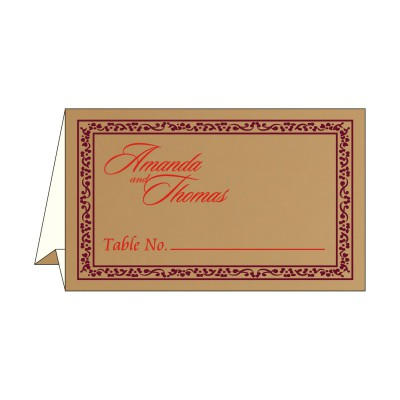 Table Cards - TC-8214C