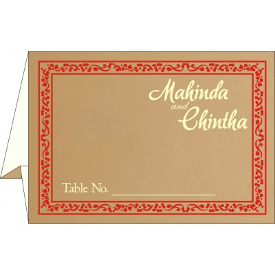 Table Cards - TC-8214F