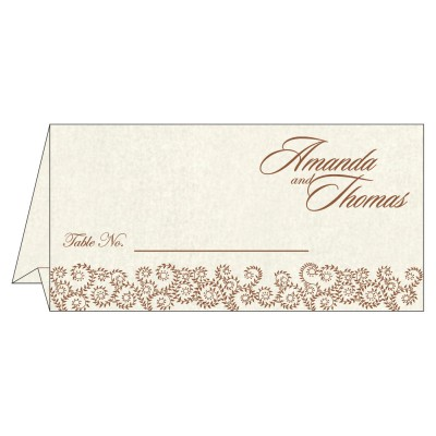 Table Cards - TC-8217O