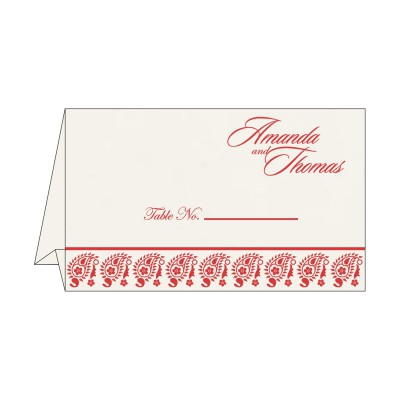 Table Cards - TC-8218M