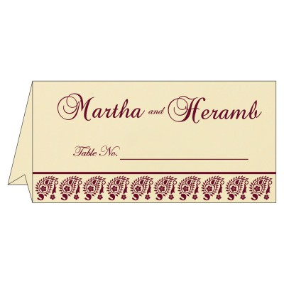 Table Cards - TC-8218N