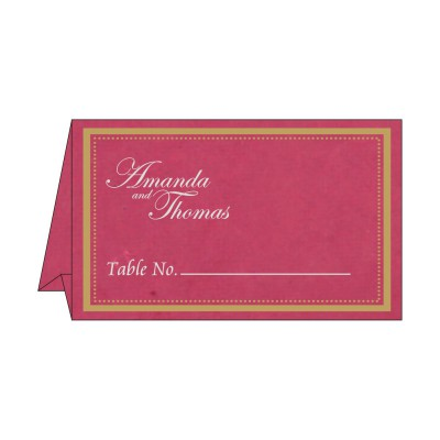 Table Cards - TC-8219F