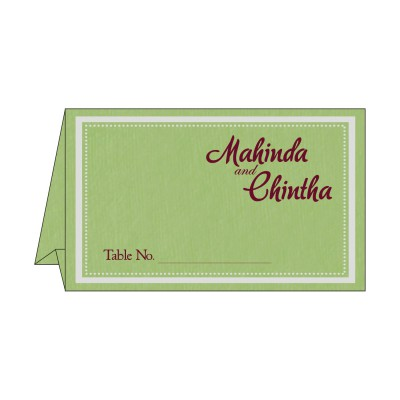 Table Cards - TC-8219J