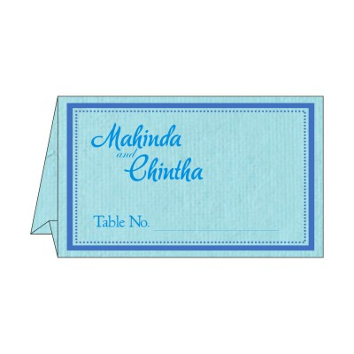 Table Cards - TC-8219N