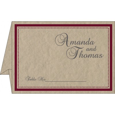 Table Cards - TC-8219Q