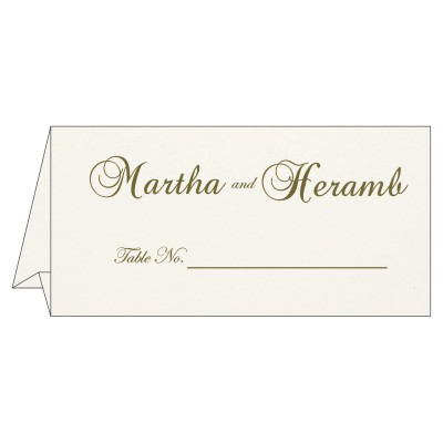 Table Cards - TC-8221D