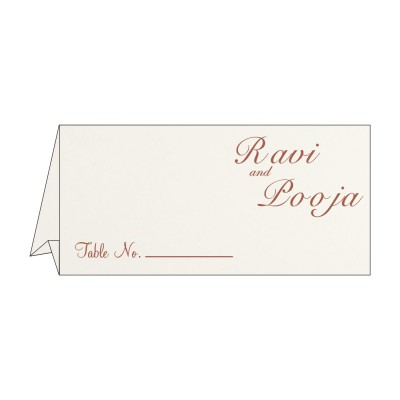 Table Cards - TC-8221O