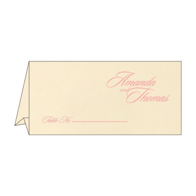 Table Cards - TC-8229Q