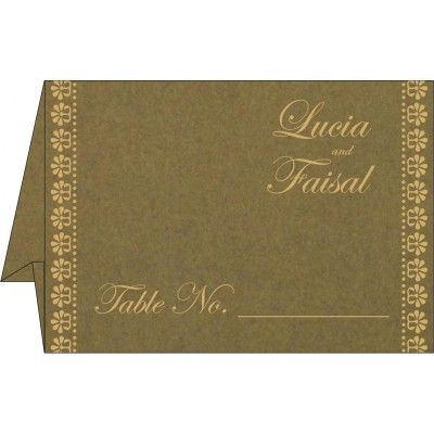 Table Cards - TC-8231B