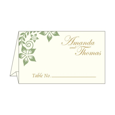 Table Cards - TC-8240F