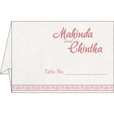 Table Cards - TC-8241E