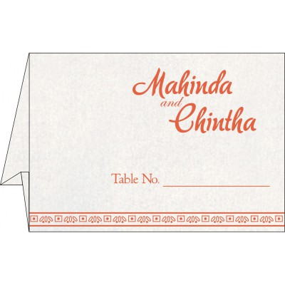 Table Cards - TC-8241K