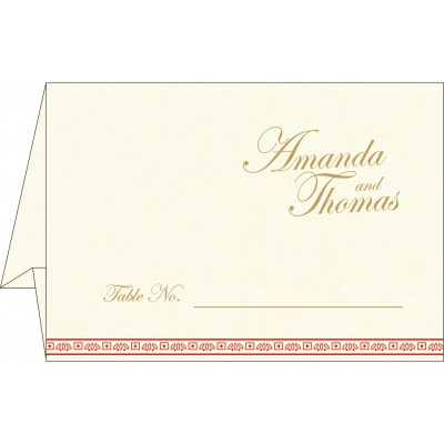 Table Cards - TC-8242A