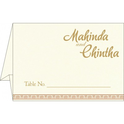 Table Cards - TC-8242E