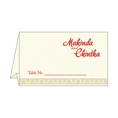 Table Cards - TC-8242M
