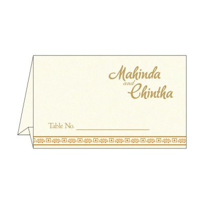 Table Cards - TC-8242Q