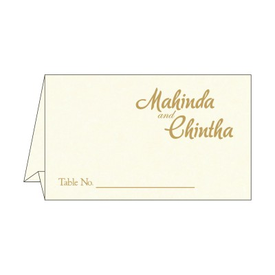 Table Cards - TC-8249K