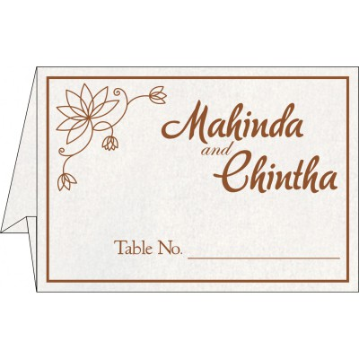 Table Cards - TC-8251M