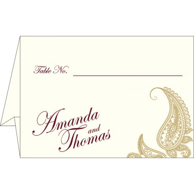 Table Cards - TC-8252A