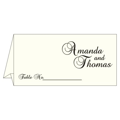 Table Cards - TC-8252C