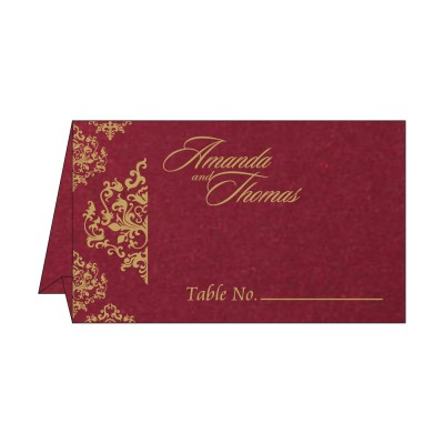 Table Cards - TC-8254B