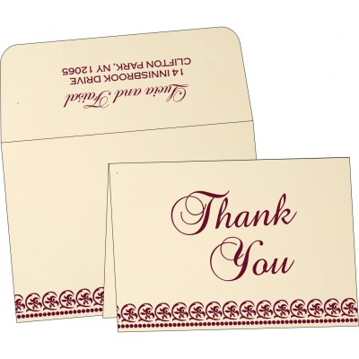 Thank You Cards - TYC-1101