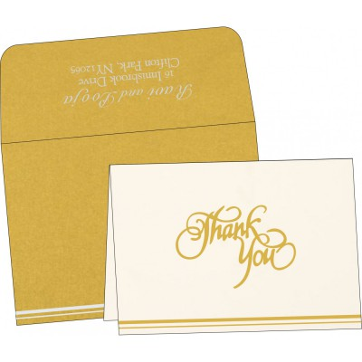 Thank You Cards - TYC-1350