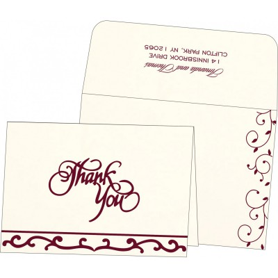Thank You Cards - TYC-1376