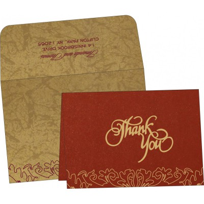 Thank You Cards - TYC-1463