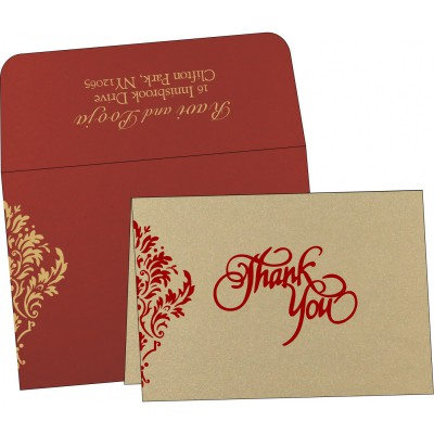 Thank You Cards - TYC-1494