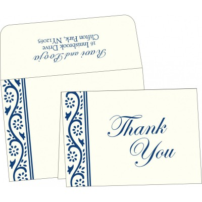 Thank You Cards - TYC-2109