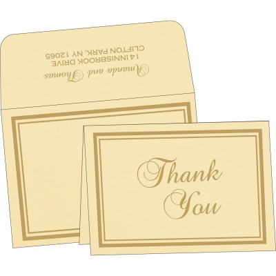 Thank You Cards - TYC-2177