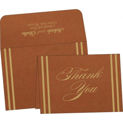 Thank You Cards - TYC-2182