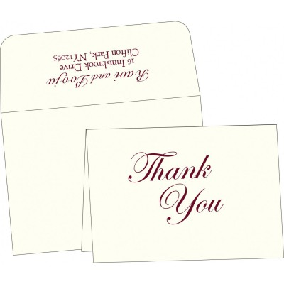 Thank You Cards - TYC-2225
