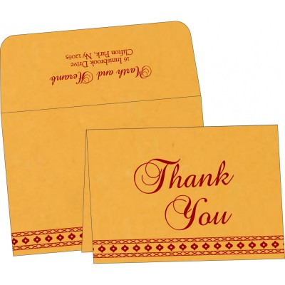 Thank You Cards - TYC-5001C