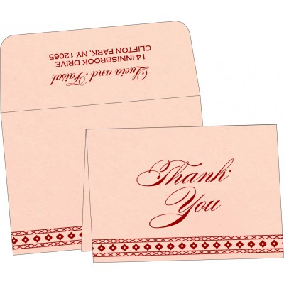 Thank You Cards - TYC-5001F