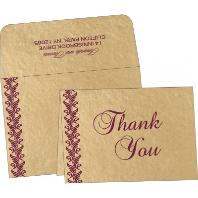 Thank You Cards - TYC-5007G