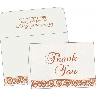 Thank You Cards - TYC-5012D