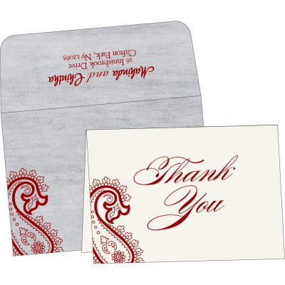 Thank You Cards - TYC-5015G