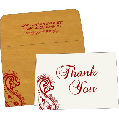 Thank You Cards - TYC-5015M