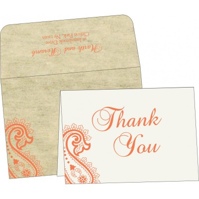 Thank You Cards - TYC-5015N