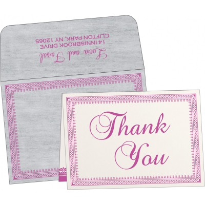 Thank You Cards - TYC-8205A
