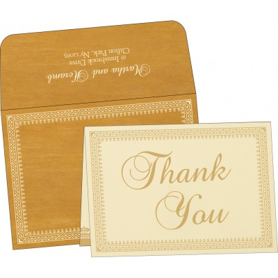 Thank You Cards - TYC-8205D