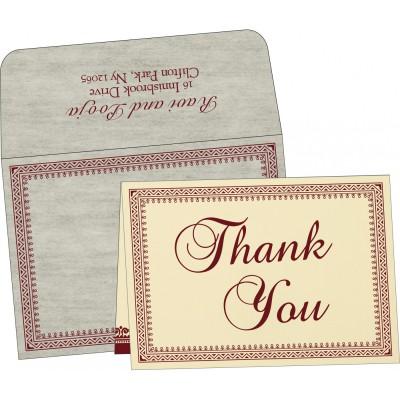 Thank You Cards - TYC-8205E