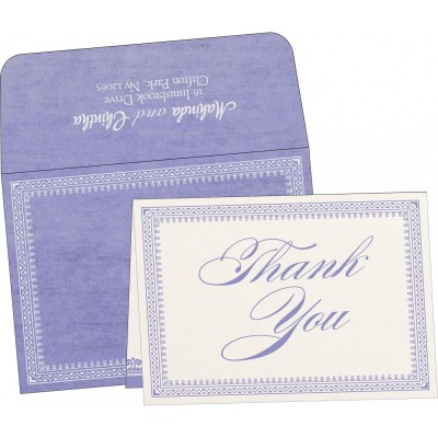 Thank You Cards - TYC-8205F
