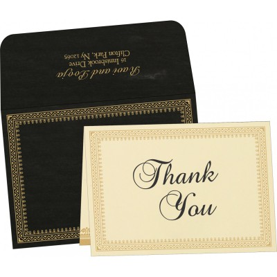 Thank You Cards - TYC-8205K