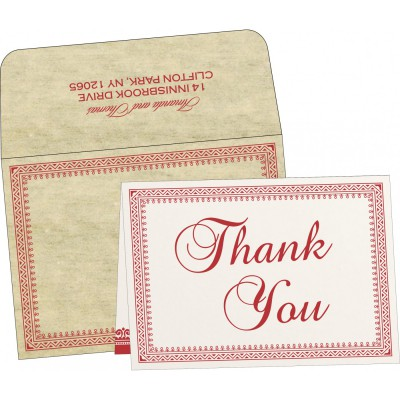 Thank You Cards - TYC-8205O