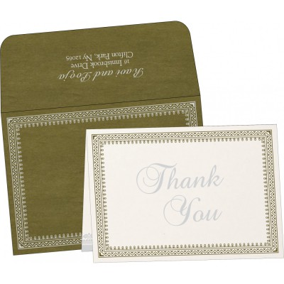 Thank You Cards - TYC-8205Q