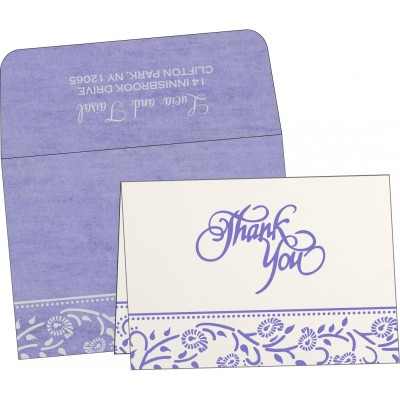 Thank You Cards - TYC-8206A